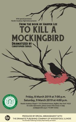 "Nardin To Present ""To Kill A Mockingbird"""