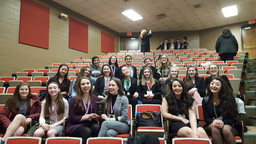 Nardin Wins 1st Overall at Model UN Conference