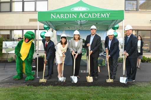 Nardin Breaks Ground on New Gymnasium and Wellness Center