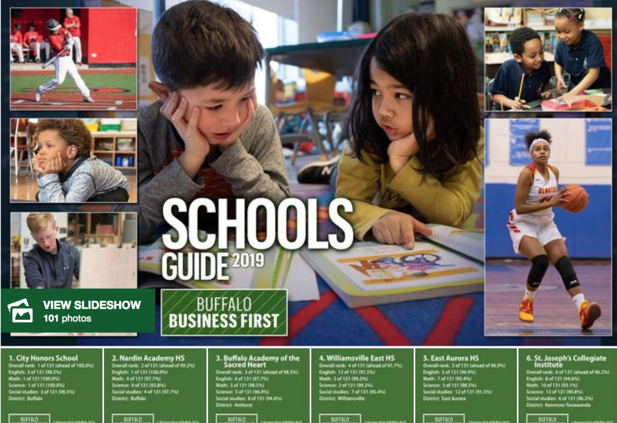 Nardin Leads Private High Schools on Buffalo Business First List