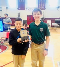 Nardin Middle School Students Place 2nd in Robotics Competition