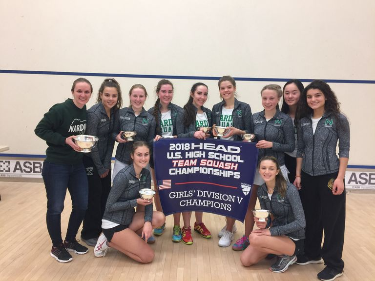 Nardin Varsity Squash Captures National Title